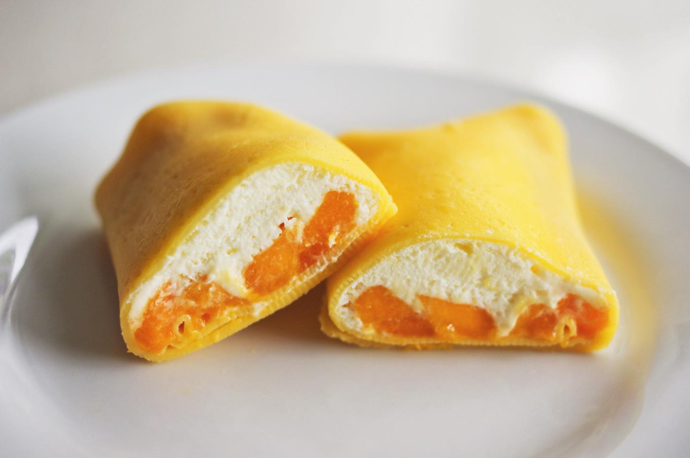 Mango pancakes recipe