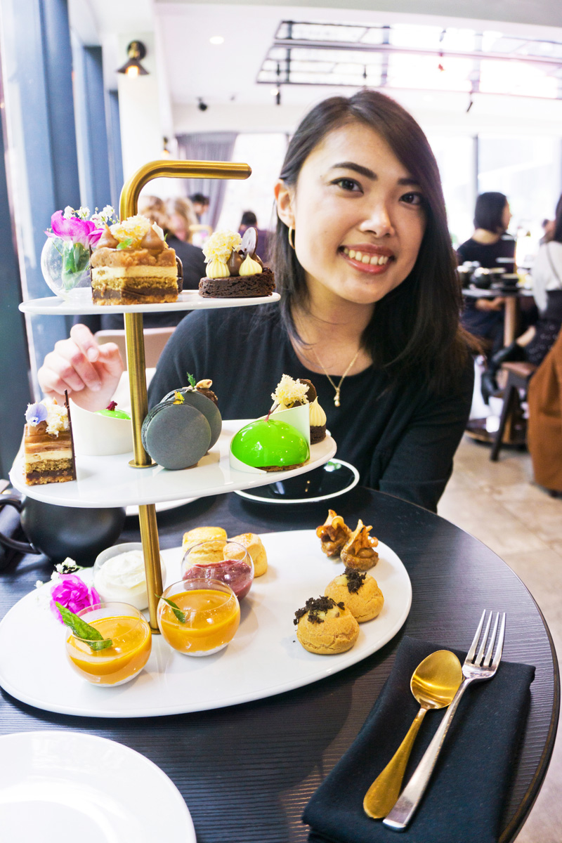 koi winter high tea