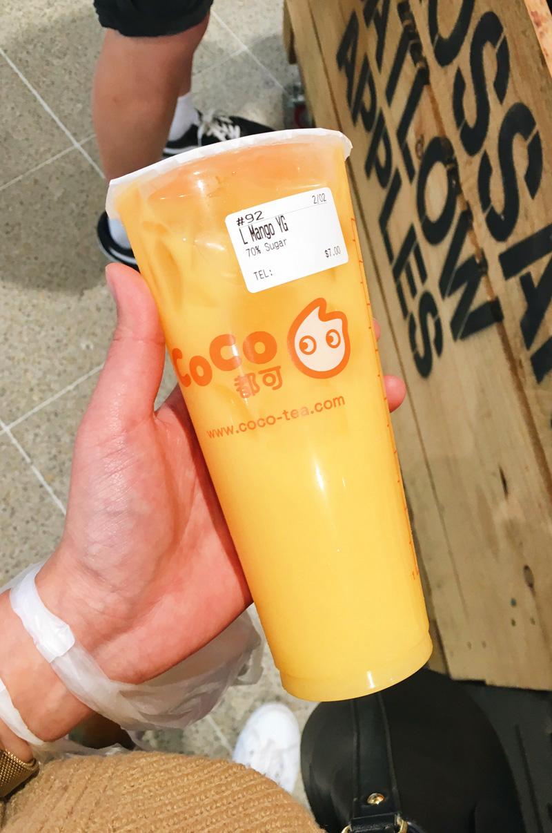 Coco bubble tea Sydney