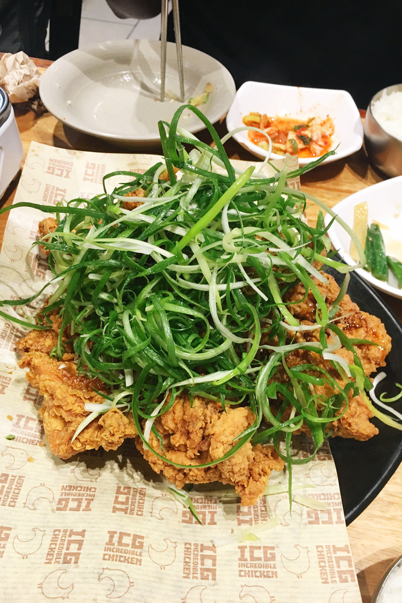ICG Korean fried chicken Sydney