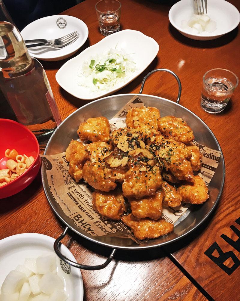 Korea BHC fried chicken