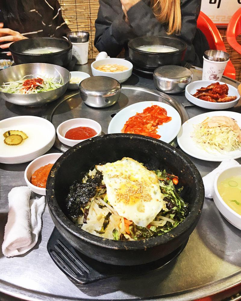 Wha to eat in Korea
