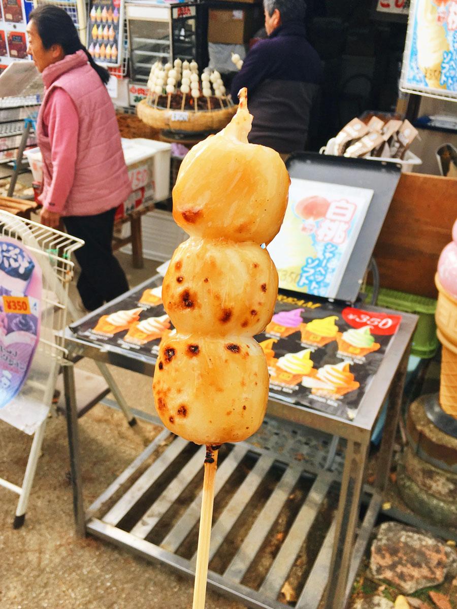 Nara street food dango