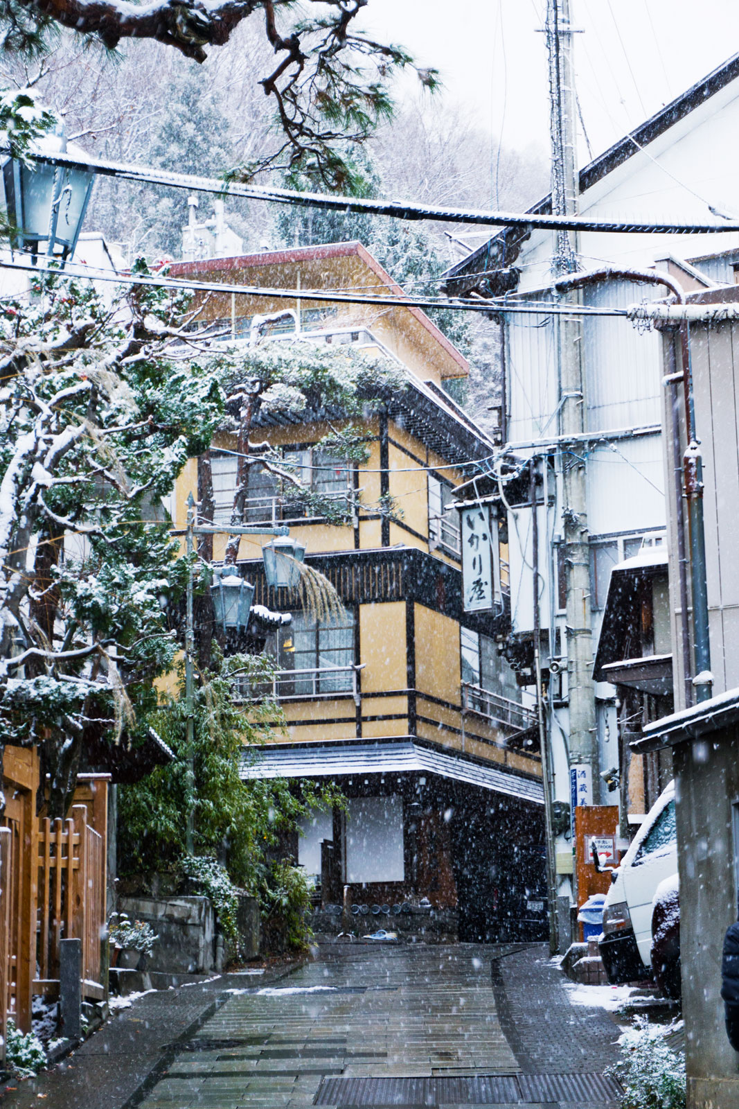 Shibu Onsen Nagano Japan snow