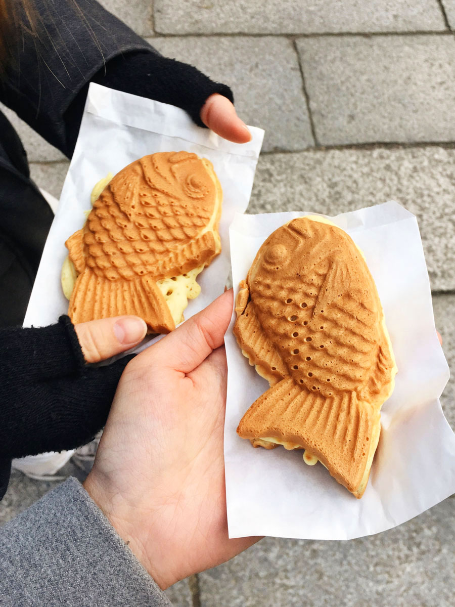 taiyaki Kyoto street food