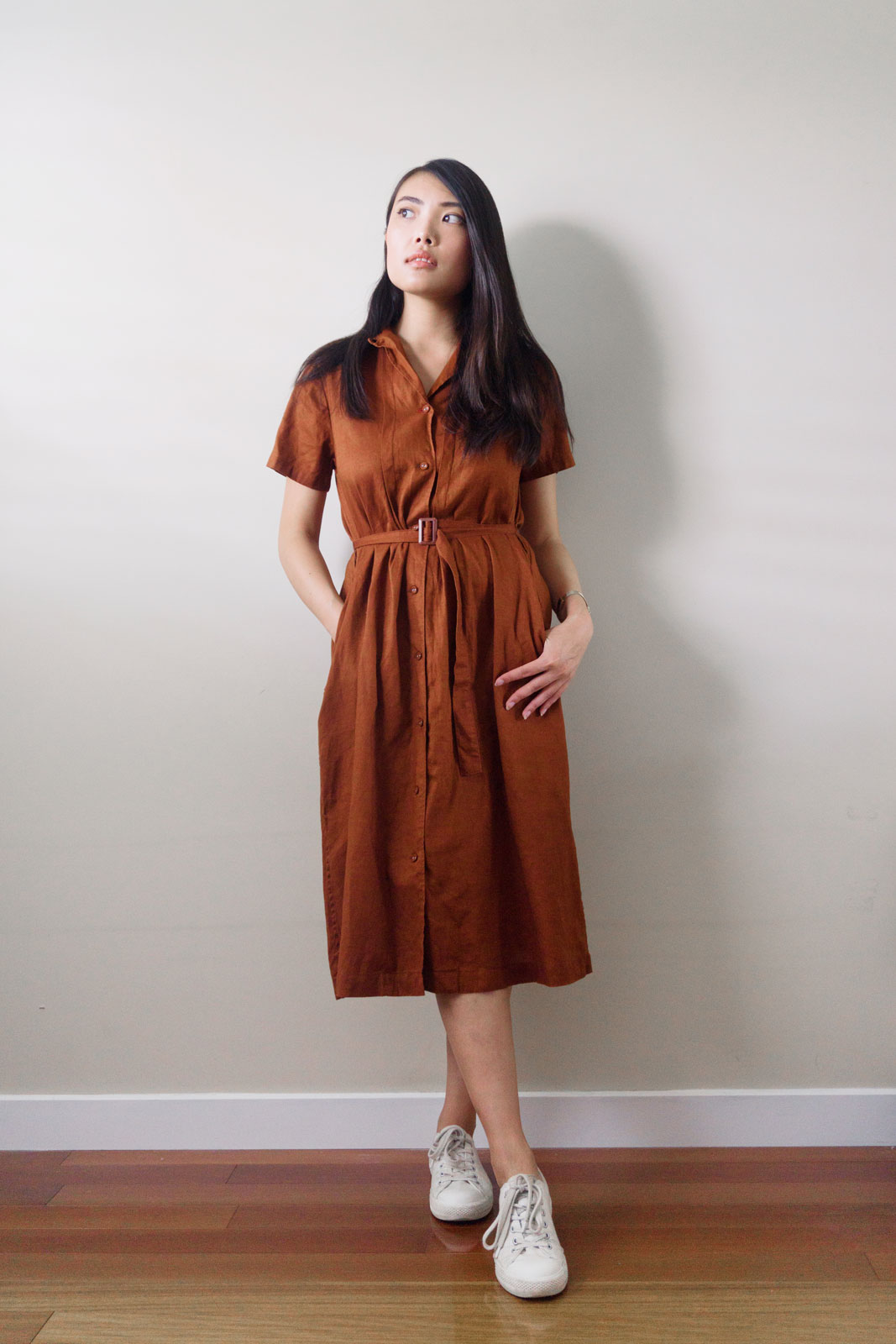 Uniqlo IDLF shirt dress