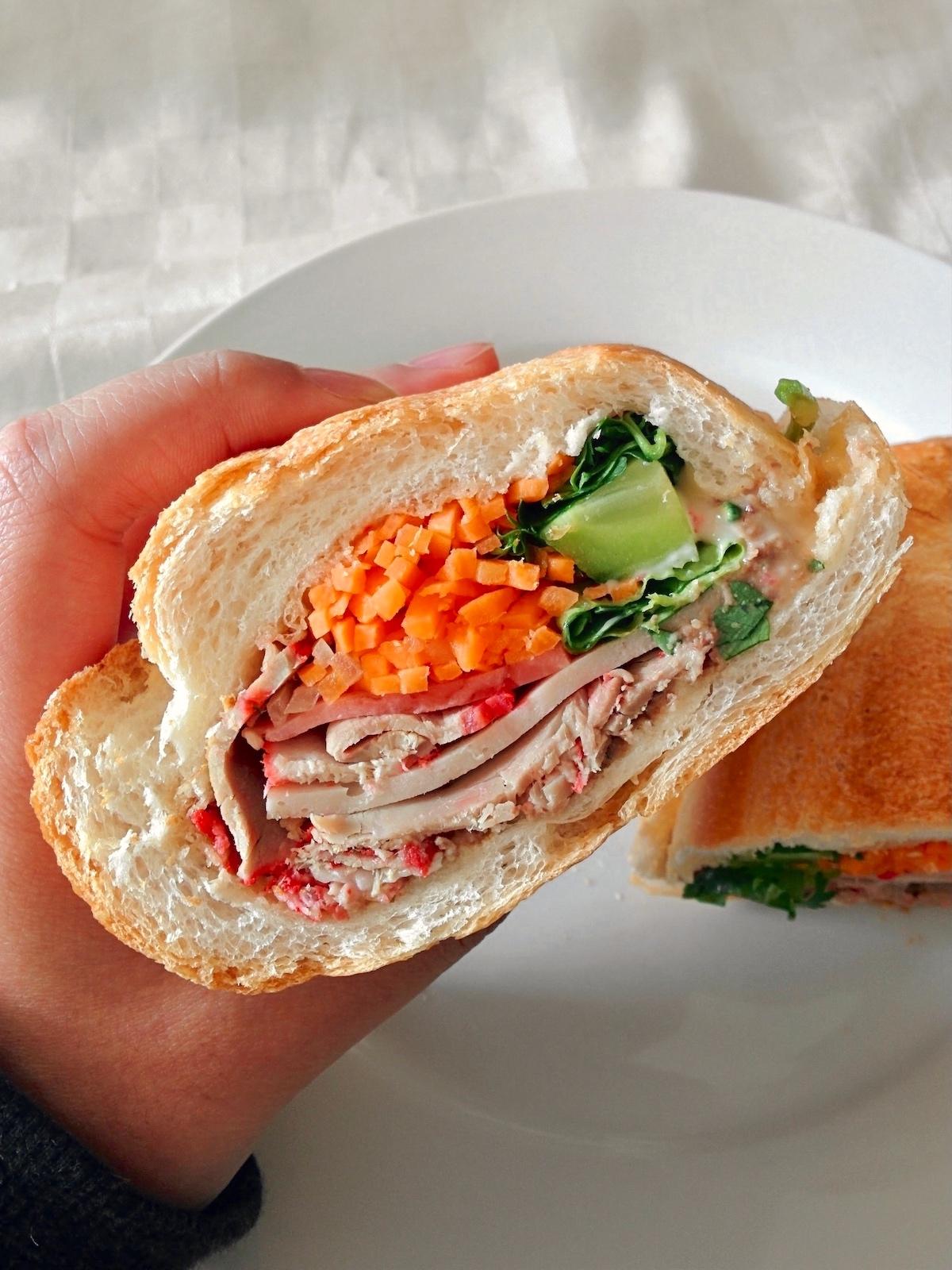 Hot Bread Pork Roll Cabramatta